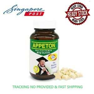 APPETON MULTIVITAMIN Hi-Q TAURINE & DHA 60 CHEWABLES KIDS [FAST SHIPPING]