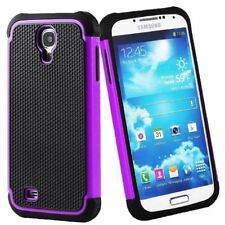 Housses et coques anti-chocs violet en plastique rigide pour téléphone mobile et assistant personnel (PDA) Samsung