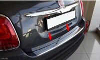 2014Up Fiat 500X Chrome Rear Bumper Protector Scratch Guard S.Steel