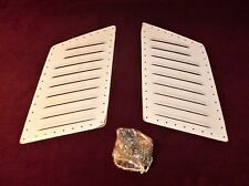 🔥 RACEACE STAINLESS STEEL HOOD LOUVERS KIT 14X9 RAT ROD 32 FORD 40 FORD GASSER