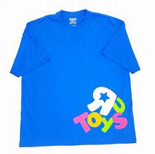 Toys R Us Mens Employee T-Shirt  Cotton Blend 2XL Blue