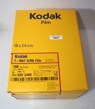5 x KODAK Röntgenfilm T-MAT G/RA 18 x 24 cm # 10647