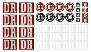 36teil. AUFKLEBER Set - DR DEUTSCHE REICHSBAHN Piko LGB Spur G DECAL 018
