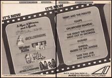 KISS__ATTACK OF THE PHANTOMS__Orig. 1979 Trade screening AD__meets phantom park