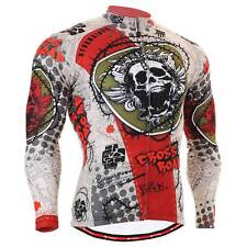 FIXGEAR CS-501 Men's Long Sleeve Cycling Jersey Bicycle Apparel Roadbike MTB