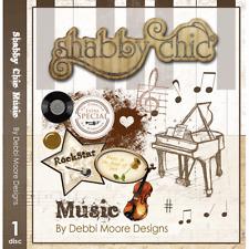 1 x Debbi Moore Designs Shabby Chic Music CD Rom (294227)