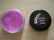 Glitteratti 70 Purple Fluorescent Black Light Glow Pre-Mixed Acrylic Powder OPI