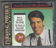 Anthony Robbins, PERSONAL POWER II - How To Increase Your Energy - Relationships