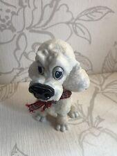 Sammlerstück Little Paws Lady Der Weißer Pudel Hund Arora Design Höhe 13cm