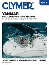 1980-2009 Yanmar Inboard 1 2 3 Cyl Diesel Marine Repair Manual 08 07 06 05 B8002