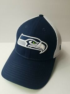 New Era Seattle Seahawks Fitted 39Thirty Cap/Hat Size Small - Medium. Clean Hat.