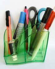 CEP 340 T Pot à Crayons Tonic Anis transparent 4 compartiments CEP Multipot Isis