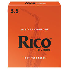 Rico Alto Saxophone Reeds Strength 3.5 (Box of 10)