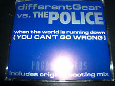 Different Gear Vs The Police when The World Is Running Down CD Single