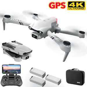 F10 GPS WIFI FPV Quad Copter With Foldable Wide Angle HD 4K Dual Camera RC Drone