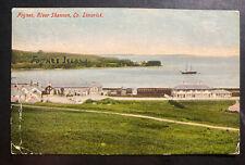 1903 Foynes Ireland Picture Postcard Cover To Glasgow Scotland River Shannon