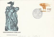 (49786) CLEARANCE Ireland FDC Contemporary Art - 28 July 1975