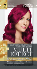 Joanna Multi Effect Temporary Hair Colour Shampoo Dye Sachet 4-8 Washes Wash Out
