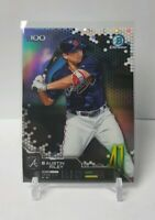 2019 BOWMAN CHROME BASEBALL AUSTIN RILEY TOP 100 REFRACTOR BRAVES