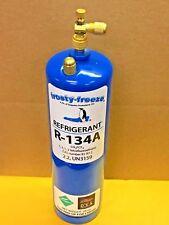 R134, R-134a, Refrigerant, LARGE CAN, 28 oz. Includes Dispenser &  2 Brass Caps