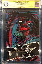 FRANK MILLER SIGNED Dark Knight Strikes Again #3 CGC 9.6 COMIC BOOK Not CBCS DK2