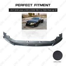 CARBON VRS V-LC Style Front Lip Bumper Splitter Kit For 17-18 Lexus LC500 LC500H