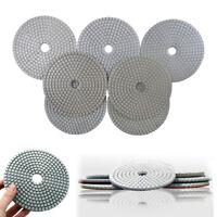 5 Inch Diamond Polishing Pads Wet Dry Sanding Disc Marble Concrete Granite Glass