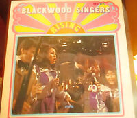 Nashville THE BLACKWOOD SINGERS vinyl LP rare southern gospel Autographed RISING