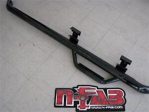 N-FAB Nerf Step Wheel to Wheel For 86-95 Chevy K-5 Blazer SUV 2 Door C8656B-TX