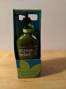 Bath & Body Works Eucalyptus Spearmint Stress Relief Set ~ Body Wash & Lotion