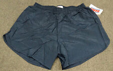 **NEW** Pack Of 6 Men's Soffe Navy Blue Nylon Running Track Shorts Size Large