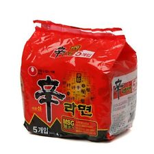 KOREAN NOODLE SHIN RAMEN 5 PCS SPICY NOODLE KOREAN FOOD