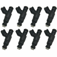 8X OEM Fuel Injector 52lb Bosch 7R3Z9F593AA For 07-13 Ford Mustang Shelby GT500