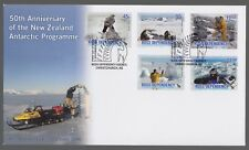 Ross Dependency 2006 FDC 50th Anniversary Of New Zealand Antarctic Programme