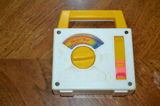 """1981 Fisher Price Wind up Music Box - """"Over the Rainbow."""""""