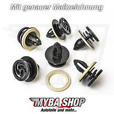 10x Verkleidung Befestigungs Clip + Dichtung für Audi VW Seat Skoda | 8E0868243