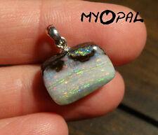 +++ GEM Boulder Opal an Silberöse - kleiner Traum in Rose !