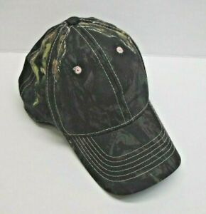 Mossy Oak Camo Pink Stitching Womens Hat