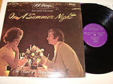 On a Summer Night Songs for Lovers  LP 33 1/3 Album 101 Strings S-5143