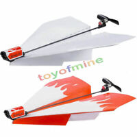 La novedad  eléctrico Avión de papel Avión Conversión de juguetes educativos Kit