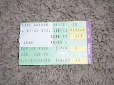 """Elton John Concert Ticket Stub-1986-Ice On Fire Tour-""""Nikita""""-""""This Town""""-MSG-NY"""