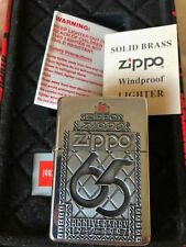 ZIPPO LIGHTER 65 ANNIVERSARY LIMITED EDITION 1932-1997  VERY RARE NEW