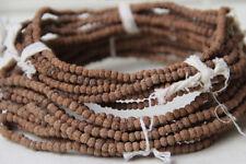 5mm Tibetan Buddhism 108 Rudraksha Seeds Prayer Bead Mala Necklace Loose beads