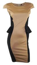 Vestiti da donna neri formale con girocollo
