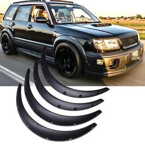 """For Subaru Forester 4.5"""" Car Truck Cover Extra Wide Body Kit Wheel Fender Flares"""