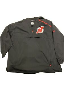 Nhl New jersey Devils Jacket1/4 Zip Size Mens XL