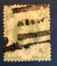 Grande Bretagne N° 103  1 s Vert Oblitéré. TB Choix Cote 60€
