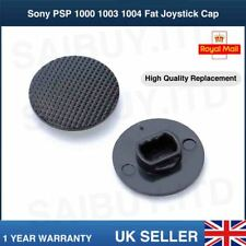 Analog Joystick Controller Button Cap Sony PSP 1000 1003 1004 Fat Black