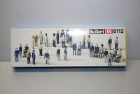 Kibri 8112 Bausatz 32 Figuren Spur H0 OVP