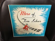Tom Lehrer More of LP 1959 MONO TL 102 VG+